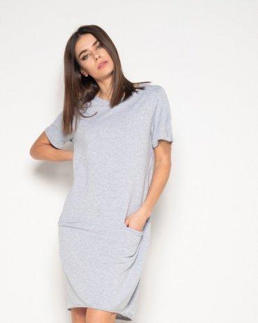 ISSA PLUS: Платья 10411_светло-серый - главное фото