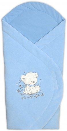Garden baby. Конверт одеяло велюровое. Артикул: 106046-01/32