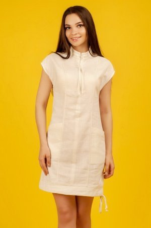 V&V. Платье 2331.81 молочное. Артикул: 2331.81