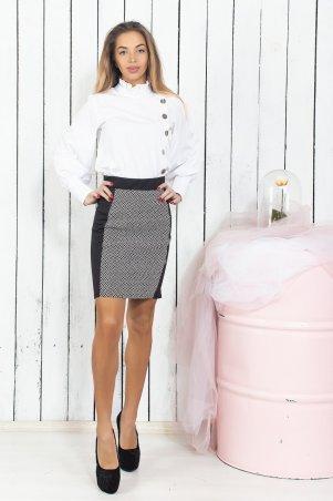 Remise Store. Чёрно-белая классическая юбка. Артикул: V222