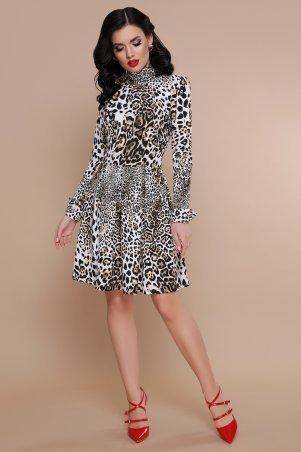 Glem. Платье. Артикул: Леопард  Эльнара д/р
