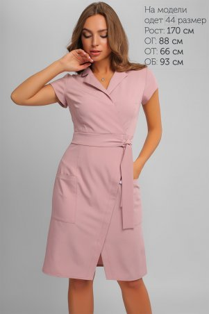 LiPar. Эффектное Деловое Платье Фрез. Артикул: 3276 фрез