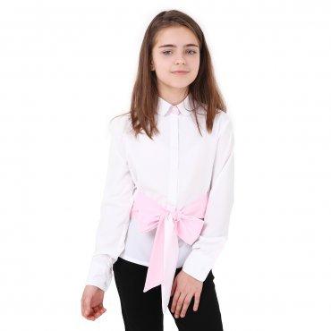 Timbo. Блуза Adelina  (розовый бант). Артикул: B048147