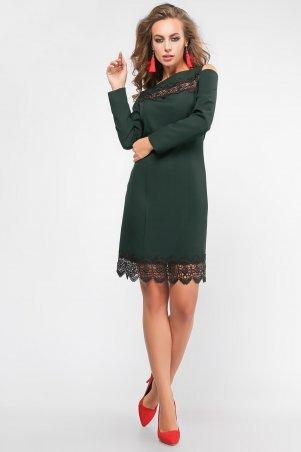 LiPar. Платье Мадлен Зелёное. Артикул: 3104 зеленый