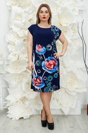 Safika. Платье Лайза пион голубой. Артикул: 018_242814