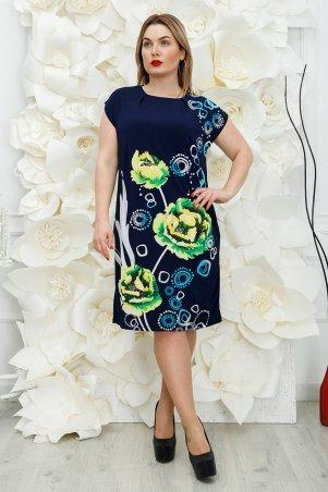 Safika. Платье Лайза пион зеленый. Артикул: 018_242810
