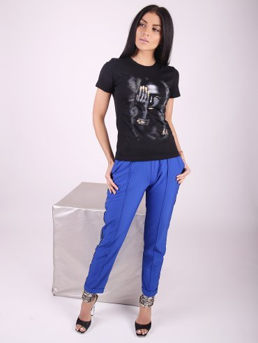 Eva Style. Укороченные брюки Jocelyn. Артикул: 1182