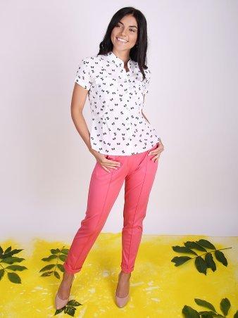 Eva Style. Укороченные женские брюки. Артикул: 1226-1