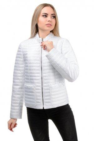 A.G.. Демисезонная куртка «Вива». Артикул: 243 белый