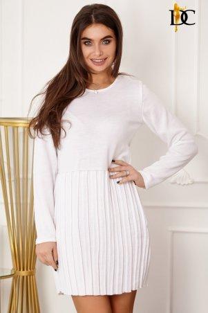 Domenica. Трендовое платье с юбочкой плиссе. Артикул: V 133 L