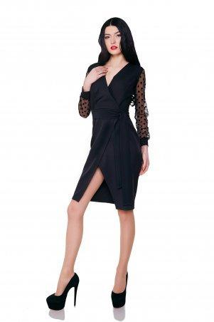 Cocoon. Платье на запах. Артикул: Dominica black