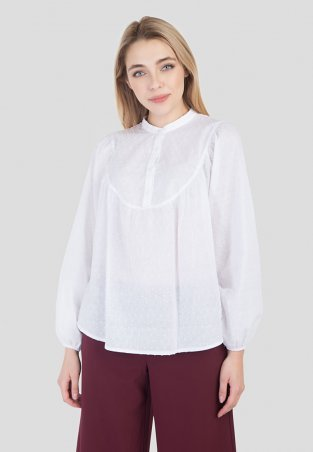 Bessa. Блуза хлопковая блузка с широким рукавом. Артикул: 6455
