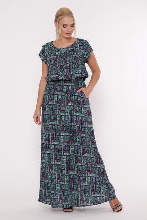 Vlavi. Платье Влада фиолет принт. Артикул: 1153