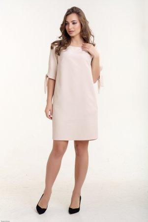 K&ML. Платье прямое с завязками на рукавах. Артикул: 488