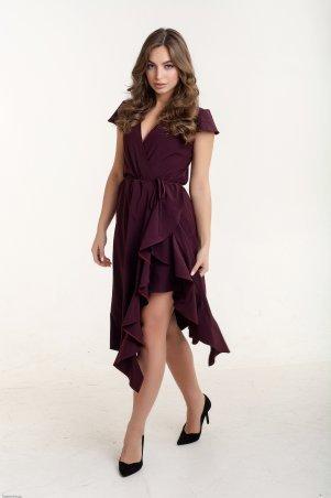 K&ML. Платье с запахом и воланами. Артикул: 493