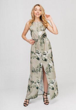 Bessa. Платье макси- с принтом. Артикул: 1810