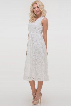 V&V. Платье 2830.114 молочное. Артикул: 2830.114