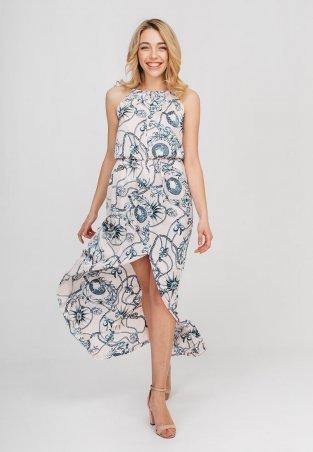 Bessa. Платье макси- с принтом. Артикул: 1813