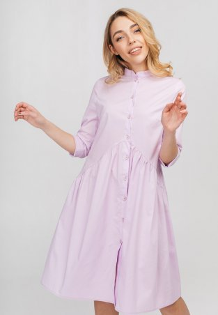 Bessa. Платье -рубашка с воланом. Артикул: 1809