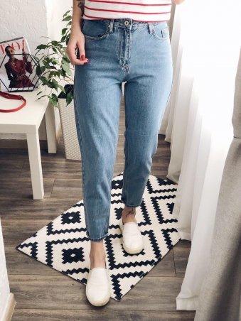 Immagine. Голубые женские джинсы MOM. Артикул: 1037-1147