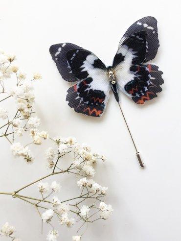 GrandUA. Бабочка цветная брошь. Артикул: 17628