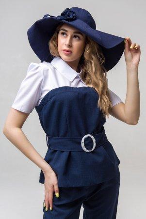 First Land Fashion. Головной убор. Артикул: Шляпка темно-синий