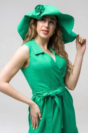 First Land Fashion. Головной убор. Артикул: Шляпка зеленый