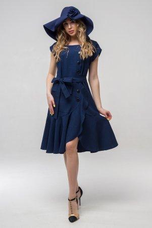 First Land Fashion. Платье. Артикул: Джастин темно-синий