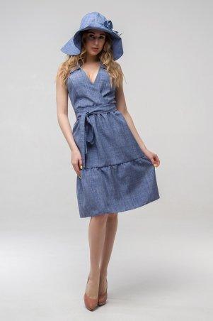 First Land Fashion. Платье. Артикул: Вероника синий