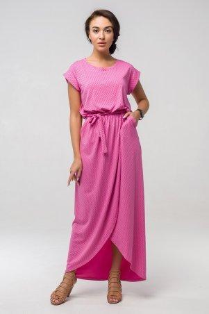 First Land Fashion. Платье. Артикул: Asti розовый горох