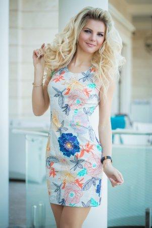 Bisou. Платье в летний принт. Артикул: 7831
