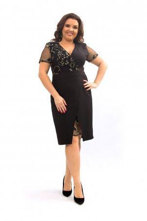 Ninele Style. Платье. Артикул: 358-1 черный