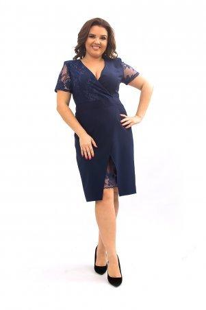 Ninele Style. Платье. Артикул: 358 синий
