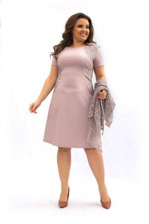 Ninele Style. Платье. Артикул: 355-5 бежевый