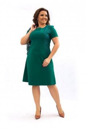 Ninele Style. Платье. Артикул: 355-6 зеленый