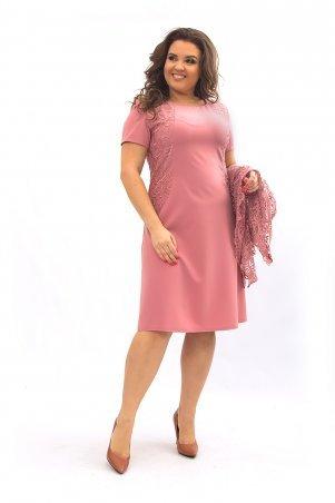 Ninele Style. Платье. Артикул: 355-7 коралл