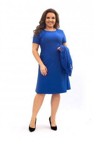 Ninele Style. Платье. Артикул: 355-8 электрик