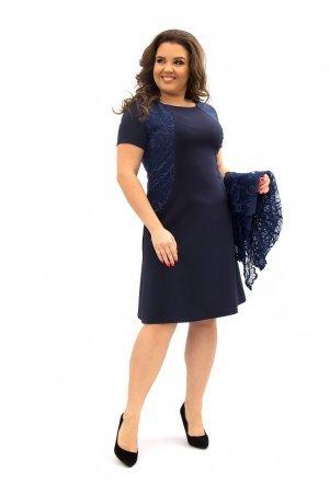 Ninele Style. Платье. Артикул: 355-4 синий