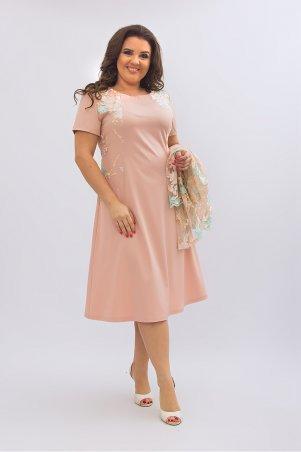 Ninele Style. Платье. Артикул: 355-2 бежевый