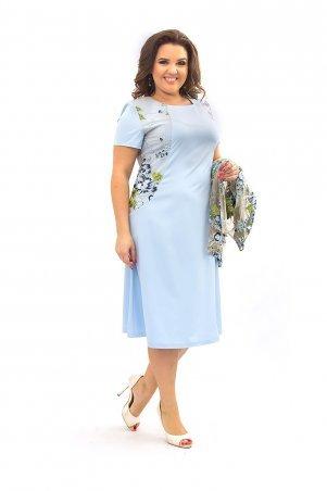 Ninele Style. Платье. Артикул: 355 голубой