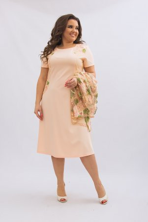 Ninele Style. Платье. Артикул: 355-1 персик