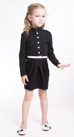 Sofia Shelest. Платье Силуэт черный. Артикул: П01442