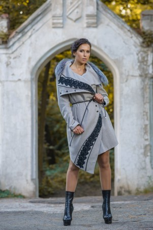 Bazhani: Пальто Молли - главное фото