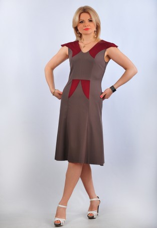 Tamara Style: Платье Креп - главное фото