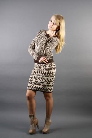 Bakhur: комплект кофта+юбка 061 - главное фото