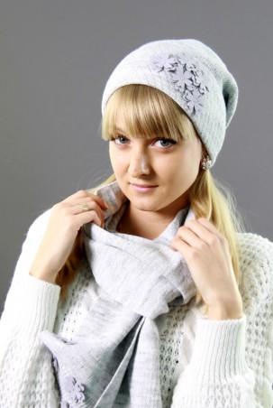 Bakhur. Комплект шапка вязаная + шарф. Артикул: 2104