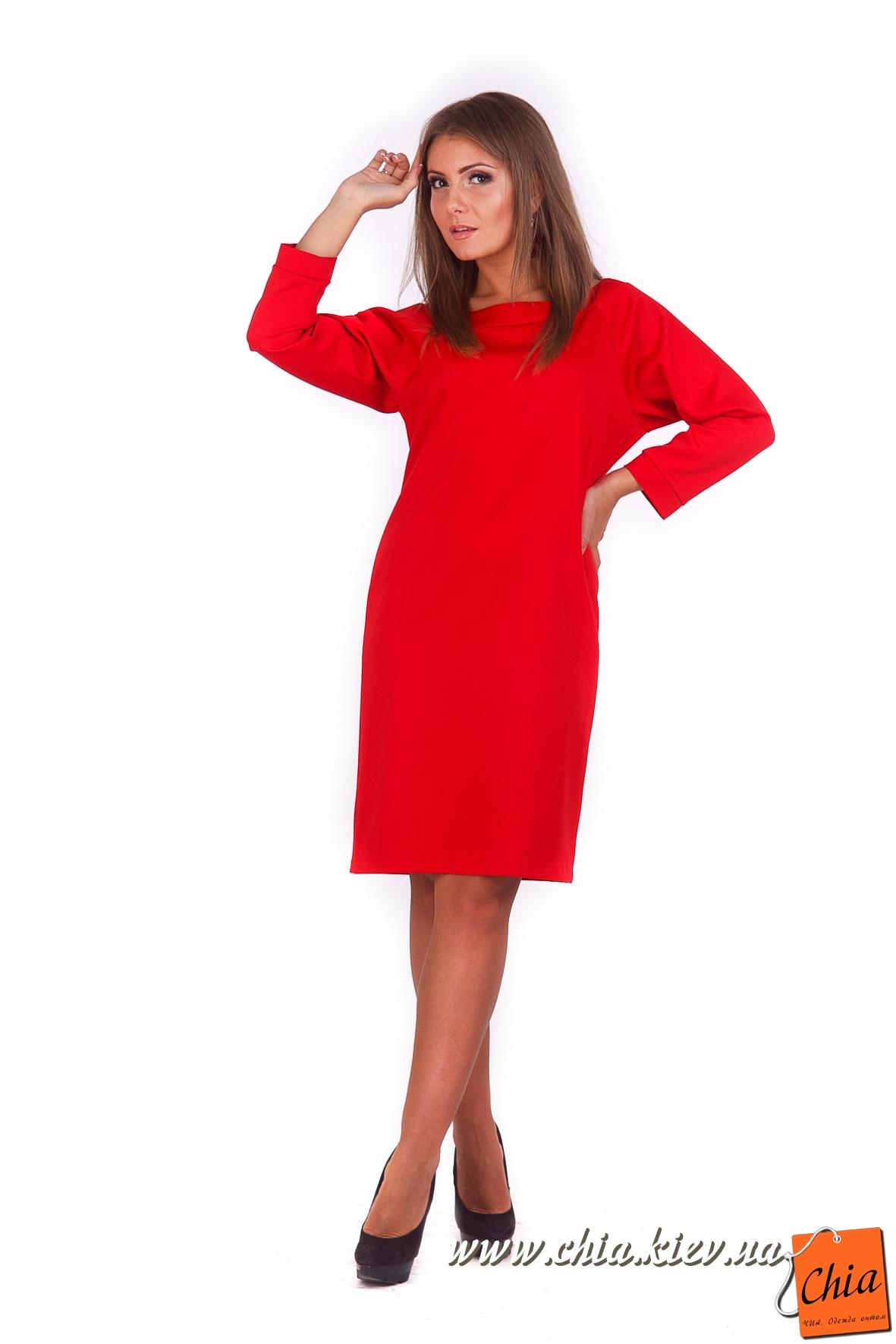 ab21a9c85ba Платье короткое красное прямое