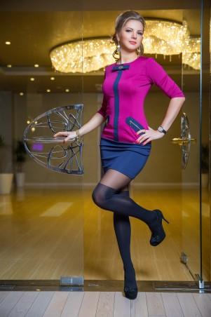 Bisou: Платье с бантиком 7315 - главное фото