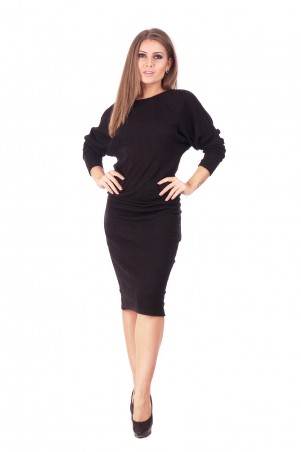 Lilo: Черное платье «летучая мышь» 159 - главное фото