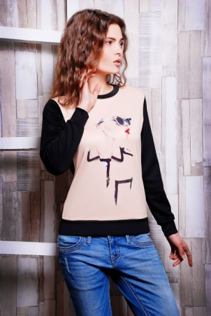 "FashionUp: Свитшот ""Sweatshirt"" KF-1066E - главное фото"